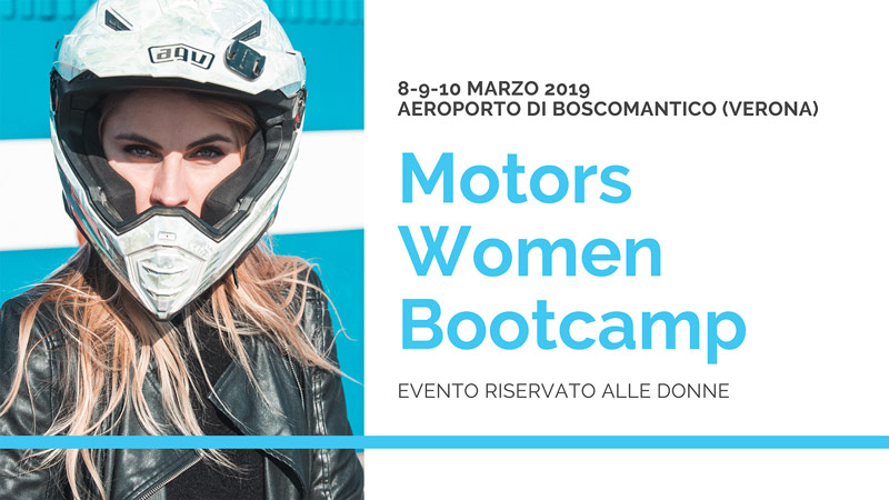 Women Motors Bootcamp: un super evento per le motocicliste
