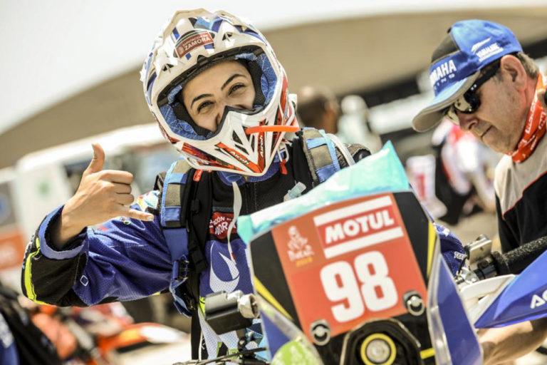 Sara Garcia e la sua sfida alla Dakar 2019