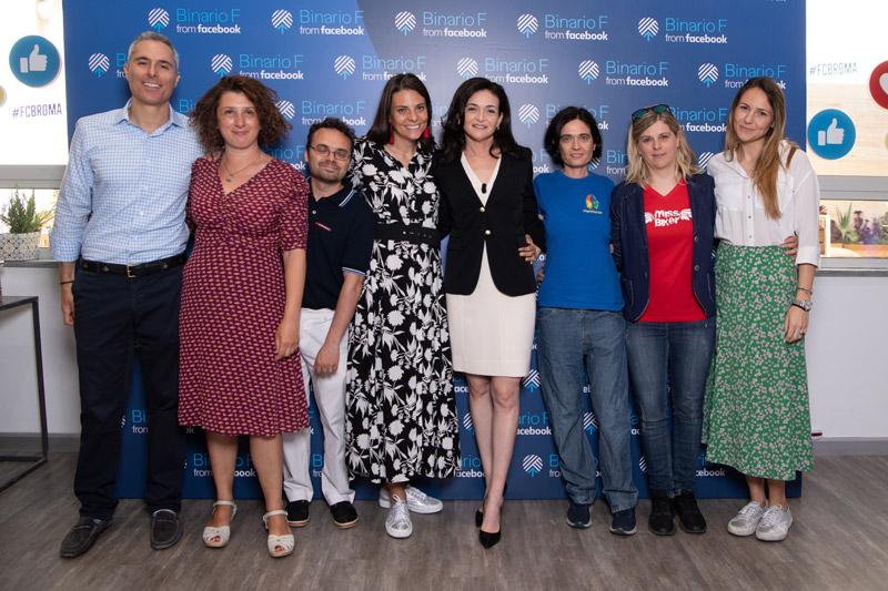 MissBiker incontra Sheryl Sandberg di Facebook