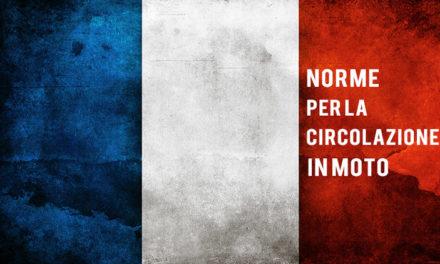 FRANCIA: norme per i motociclisti