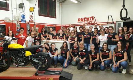 Aperitivo Tecnico Femminile: il corso con Ducati Verona