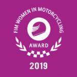 MissBiker candidata al FIM Women Award 2019
